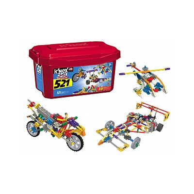K'NEX 521 Piece Value Tub