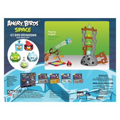 K'NEX Angry Birds Space Ice Bird Breakdown Building Set
