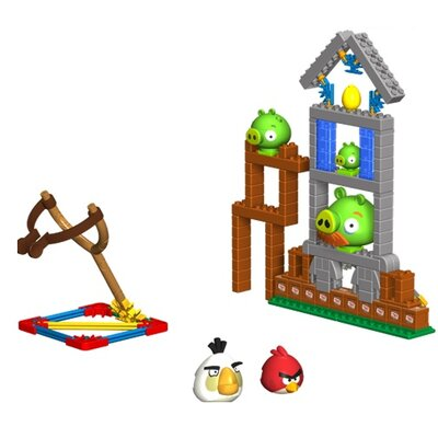 K'NEX Angry Birds Mission May'ham Building Set