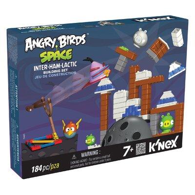 K'NEX Angry Birds Space Inter-ham-lactic Building Set