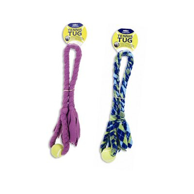 Premier Pet Tennis Tug Dog Toy