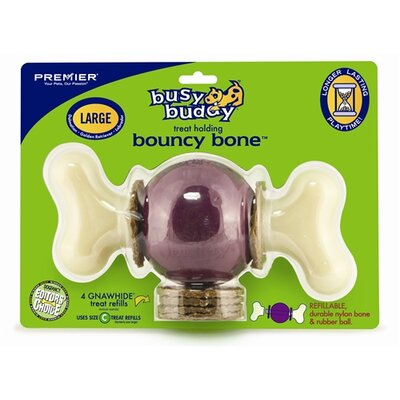 Premier Pet Busy Buddy Bouncy Bone Dog Toy