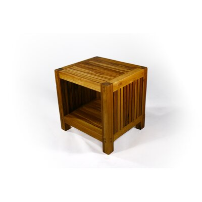 Strata Furniture Slat End Table