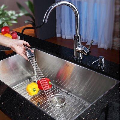 """Kraus 30"""" Undermount Kitchen Sink"""