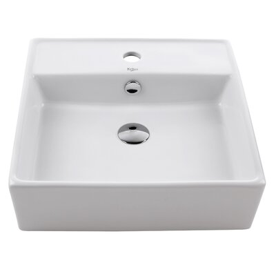 Kraus Ceramic Square Sink