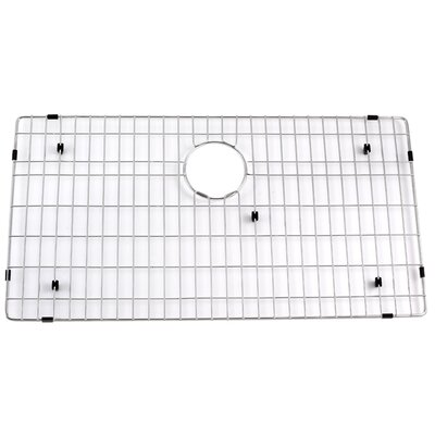 "Kraus Stainless Steel 29.5"" Bottom Grid for Kitchen Sink"