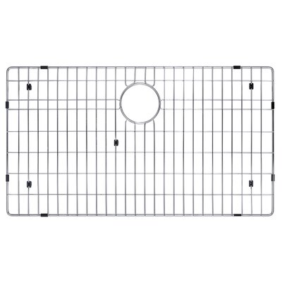 "Kraus Stainless Steel 30"" x 17"" Bottom Grid"