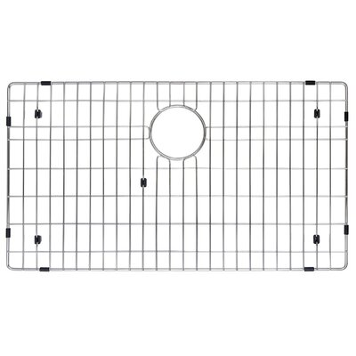 "Kraus Stainless Steel 28"" x 16"" Bottom Grid"