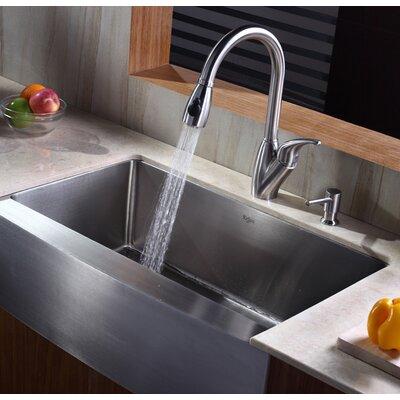 """Kraus Farmhouse 33"""" Kitchen Sink"""