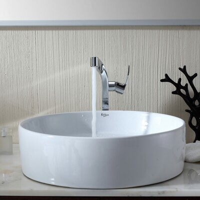 Kraus Bathroom Combos Single Hole Waterfall Typhon Faucet with Single Handle