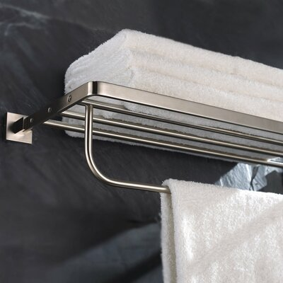Kraus Aura Bath Towel Rack with Towel Bar