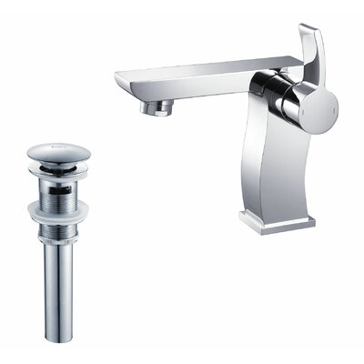 Bathroom Combos Single Hole Sonus Faucet with Single Handle - KEF-14601-PU11