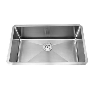 "Kraus 30"" x 18"" x 10"" Undermount Kitchen Sink"