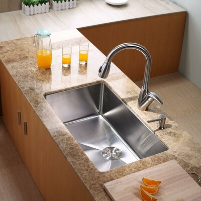 "Kraus 30"" x 18"" Undermount Kitchen Sink"
