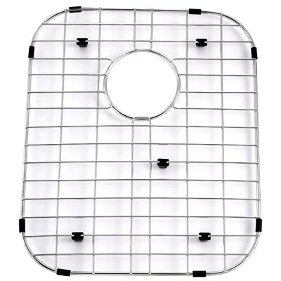 "Kraus Stainless Steel 17"" x 14"" Bottom Grid"