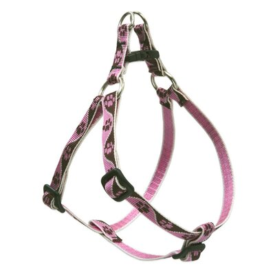 Lupine Pet Tickled Pink Adjustable Small Step-in Dog Harness