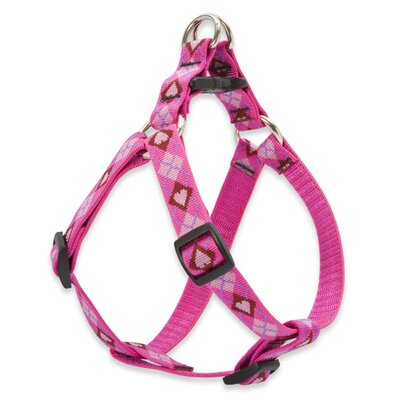 "Lupine Pet Puppy Love 3/4"" Adjustable Medium Dog Step-In Harness"