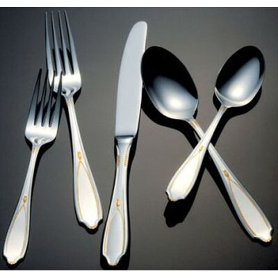 Yamazaki Victoria Gold Accent Flatware Collection