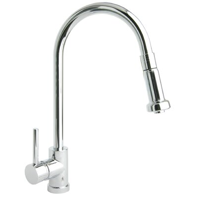 Giagni Pro Single Handle Single Hole Kitchen Faucet with Pull Down Spout