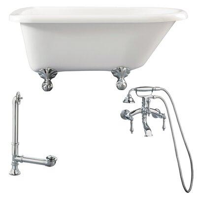 Augusta Roll Top Bathtub - LA1-