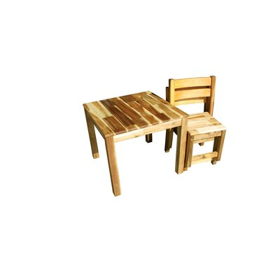 Q Toys Deluxe Acacia Table and Chairs