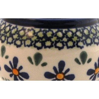 Euroquest Imports Polish Pottery 6 oz. Sugar Bowl