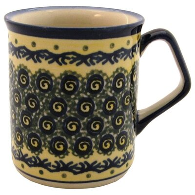 Euroquest Imports Polish Pottery 8 oz. Coffee Mug