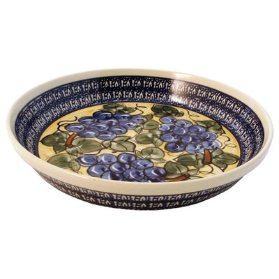 "Euroquest Imports Polish Pottery 10"" Pie Plate"