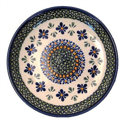 Euroquest Imports Polish Pottery 12 oz. Rimmed Bowl