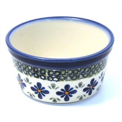 Euroquest Imports Polish Pottery 8 Oz. Ramekin