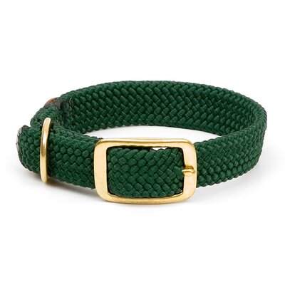 Double Braid Collar in Green