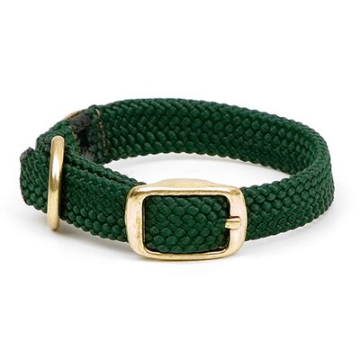 Double Braid Junior Collar in Green
