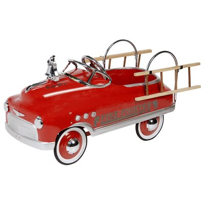 Dexton Kids Fire Fighter Comet Sedan Car