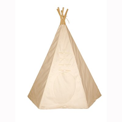 Dexton Kids 6' Powwow Lodge Round Door Teepee