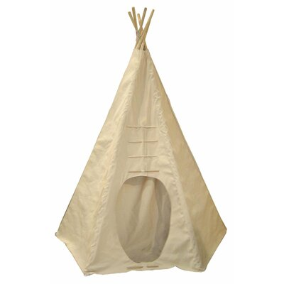 <strong>Dexton Kids</strong> Powwow Lodge Round Door Teepee (6 Panel)