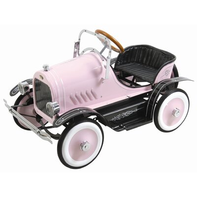 Dexton Kids Deluxe Roadster Pedal Car in Pink
