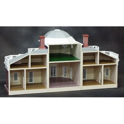 Real Good Toys Finished Monticello Dollhouse in 1/2 Scale