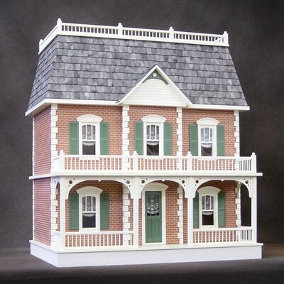 Pre-Bricked Georgetown Dollhouse