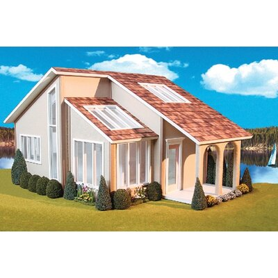 Contemporary Ranch Dollhouse