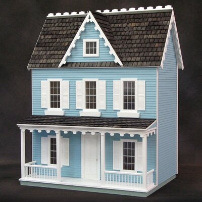 Half-Scale Farmhouse Dollhouse Kits