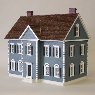 Colonial Thornhill Shell Dollhouse Kit