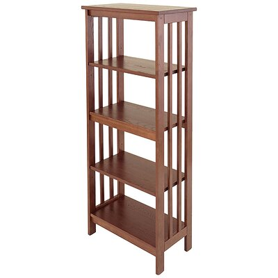 "Manchester Wood Mission 54"" Bookcase"