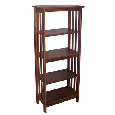 Manchester Wood Mission Bookcase in Chestnut