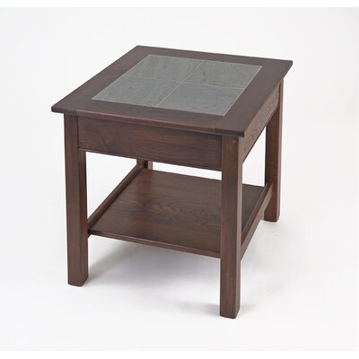 Manchester Wood Slate Top End Table