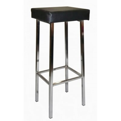 KCA  Furniture Goodfellow Bar Stool with Black Powdercoating