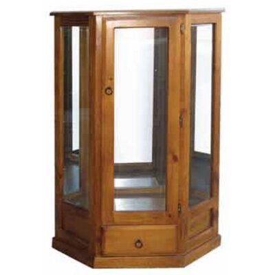 MAT Fine Furniture Lisa Corner Display Cabinet with Drawer