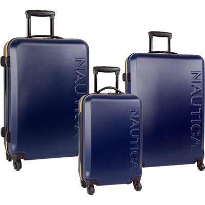 Nautica Ahoy 3 Piece Luggage Set