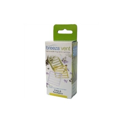 Brondell Breeza Breeze Vent Fragrance Replaceable Cartridges in Case Pack