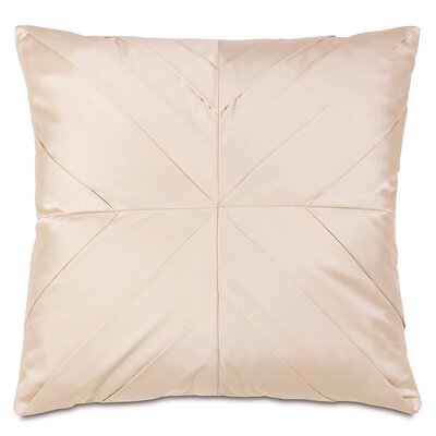 Eastern Accents Bardot Marilyn Chamois Pleats Accent Pillow