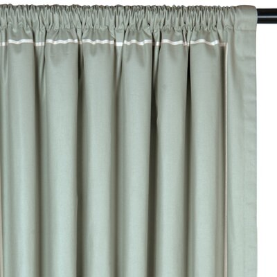 Eastern Accents Vera Drapery Rod Pocket Curtain Single Panel